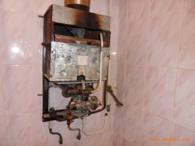 Газовая колонка старого образца ремонт