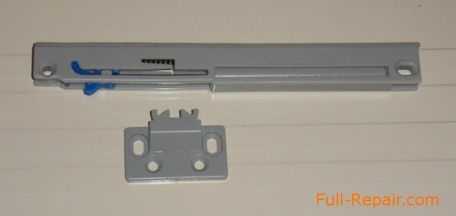 Основной блок доводчика с «цеплялкой»