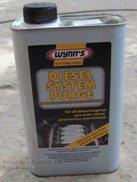 WYNN'S diesel system purge. Промывка дизельнйо инжекторной системы