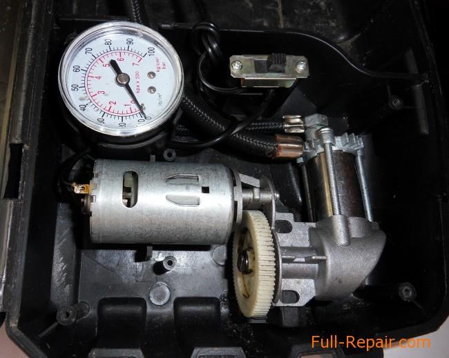 ремонт компрессора автомобильного